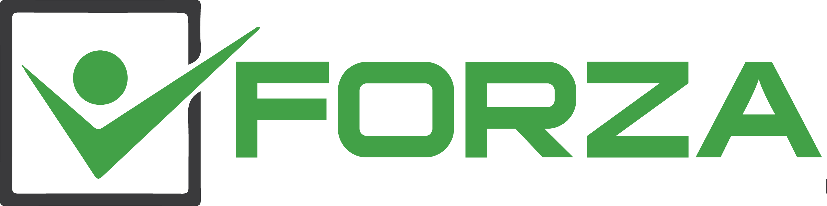 portland digital marketing agency services forza logo transparent