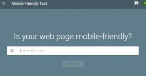 Mobile Friendly test Forza Digital Marketing diseño de paginas web